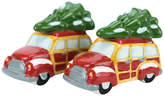 Boston Warehouse Woodie Auto & Tree Salt & Pepper Shakers