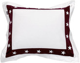 Gant Star Border Pillowcase - Purple Fig