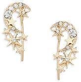 Nanette Lepore Moon and Stars Drop Earrings