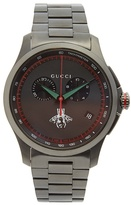 Gucci G-Chrono stainless-steel watch