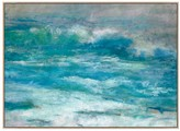 Pottery Barn Morning at the Beach Canvas