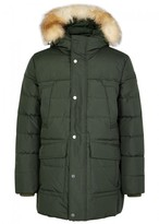 Pajar Teller Fur-trimmed Shell Coat