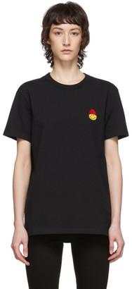 Ami Alexandre Mattiussi Black Smiley T-Shirt