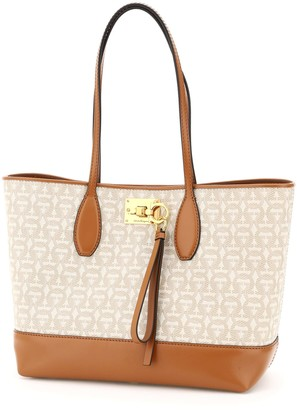 Salvatore Ferragamo The Studio Gancini Shopping Bag