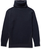 John Smedley - Merino Wool-blend And Sea Island Cotton Rollneck Sweater