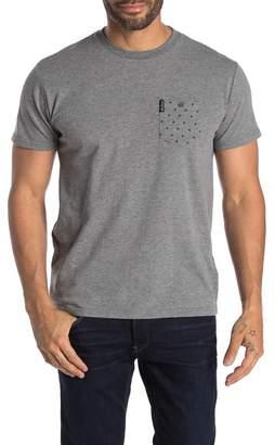 Ben Sherman Polka Dot Pocket T-Shirt