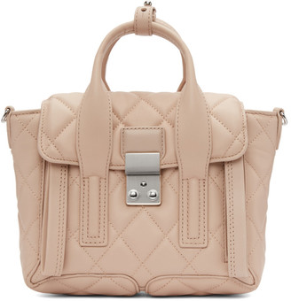 3.1 Phillip Lim Pink Quilted Mini Pashli Satchel