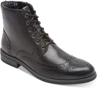 Rockport Men Colden Wingtip Dress Casual Boots Men Shoes