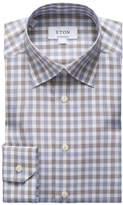 Eton Contemporary-Fit Multicolor Plaid Dress Shirt
