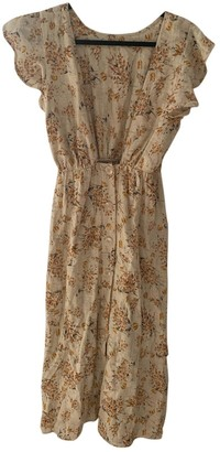 Rachel Pally \N Beige Cotton Dress for Women