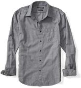 Banana Republic Grant-Fit Luxe Flannel Mini Gingham Shirt