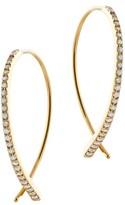 Lana Women's Small Upside Down Flawless Diamond Earrings