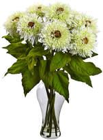 Asstd National Brand Nearly Natural Sunflower Arrangement With Vase