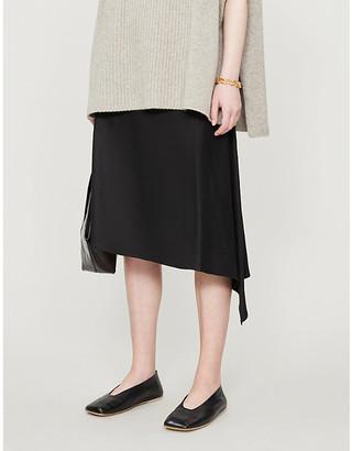 Joseph Dillion Stretch Linen Skirt