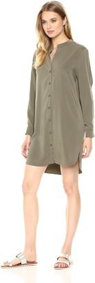 BCBGeneration Women's Cold Shoulder Shirt Dress