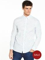 Ted Baker Floral Print Long Sleeve Shirt