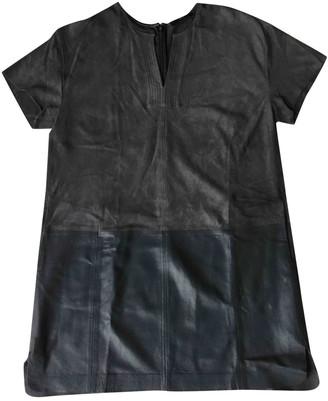 Steffen Schraut Grey Leather Dress for Women