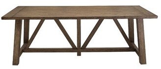 Woodworth Trestle Dining Table Gracie Oaks