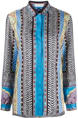 Etro Long Sleeve Printed Blouse