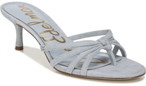 Sam Edelman Jedda Mid-Heel Thong Sandals Women's Shoes