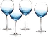 Mikasa Swirl Set of 4 Balloon Wine Glasses