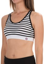 Nicole Miller Comfy Seamless Sports Bra - Low Impact (For Women)