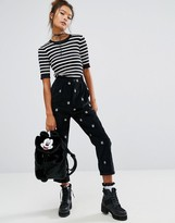 Lazy Oaf X Disney Mickey Mouse Corduroy Pants
