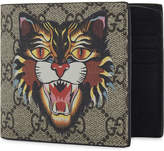 Gucci Bestiary Gg Supreme Canvas Wallet