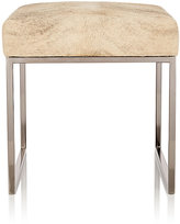 Barneys New York Cowhide Cubed Bench