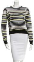 Proenza Schouler Striped Crew Neck Sweater