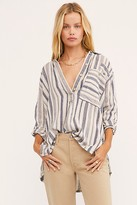We The Free Summer Breeze Stripe Pullover at Free People