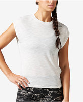 Reebok Work-Ready Mélange Open-Back Top