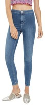Topshop Women's Joni Contrast Stitch High Rise Skinny Jeans