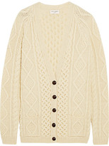 womens chunky wool knitted wool sweater - ShopStyle