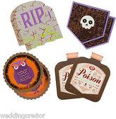 Martha Stewart Jolee's Boutique Halloween Traditional Halloween Drink Coasters - 8pcs