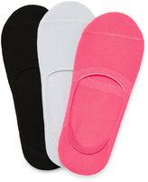 JCPenney Total Girl 3-pk. Liner Socks - Girls