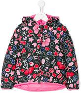 Kenzo multiprinted padded jacket