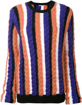 Marco De Vincenzo cable knit jumper - women - Acrylic/Polyamide/Viscose/Wool - 40