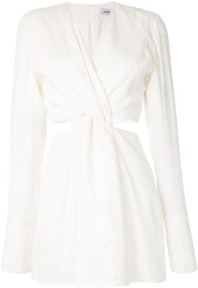 Anna Quan Harley knot-detail dress