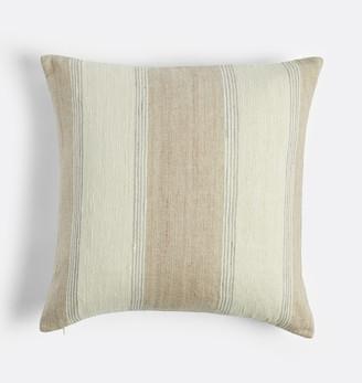 Rejuvenation Silk Striped Pillow Cover