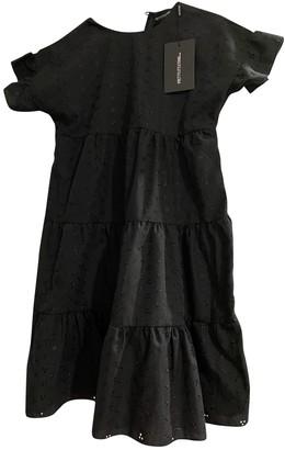 Non Signã© / Unsigned Oversize Black Cotton Dresses