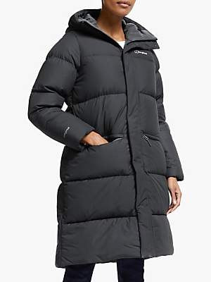 Berghaus Combust Reflect Women's Long Insulated Jacket, Jet Black