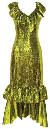 Huishan Zhang Aerin Sequinned Dress