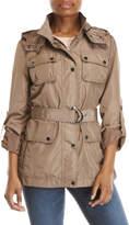 BCBGeneration Hooded Belted Safari Jacket