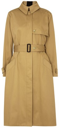 Givenchy Camel cotton-twill trench coat