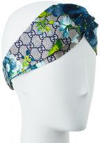 Gucci GG Blooms Silk Headband