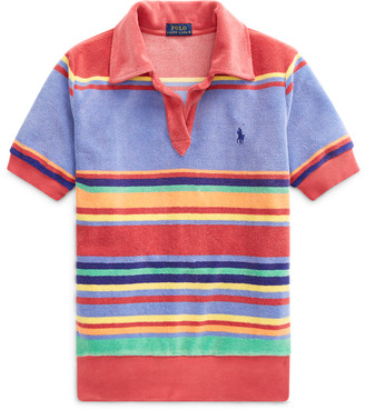 Ralph Lauren Striped Terry Polo Shirt