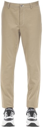 Burberry Cotton Canvas Chino Pants