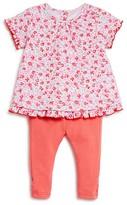 Kate Spade Infant Girls' Floral Top & Solid Leggings Set - Sizes 3-9 Months