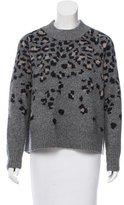 Rag & Bone Wool-Blend Leopard Print Sweater
